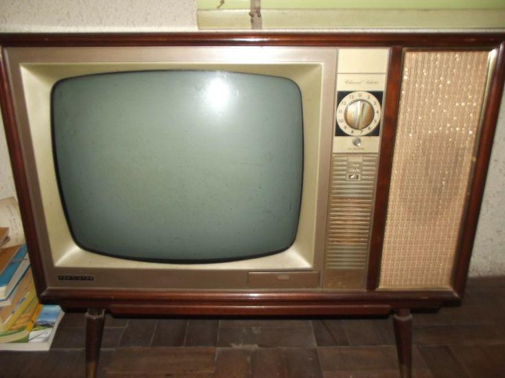 Tipos de televisores antiguos