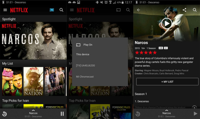 Duplicar pantalla Movil a Smart TV Netflix