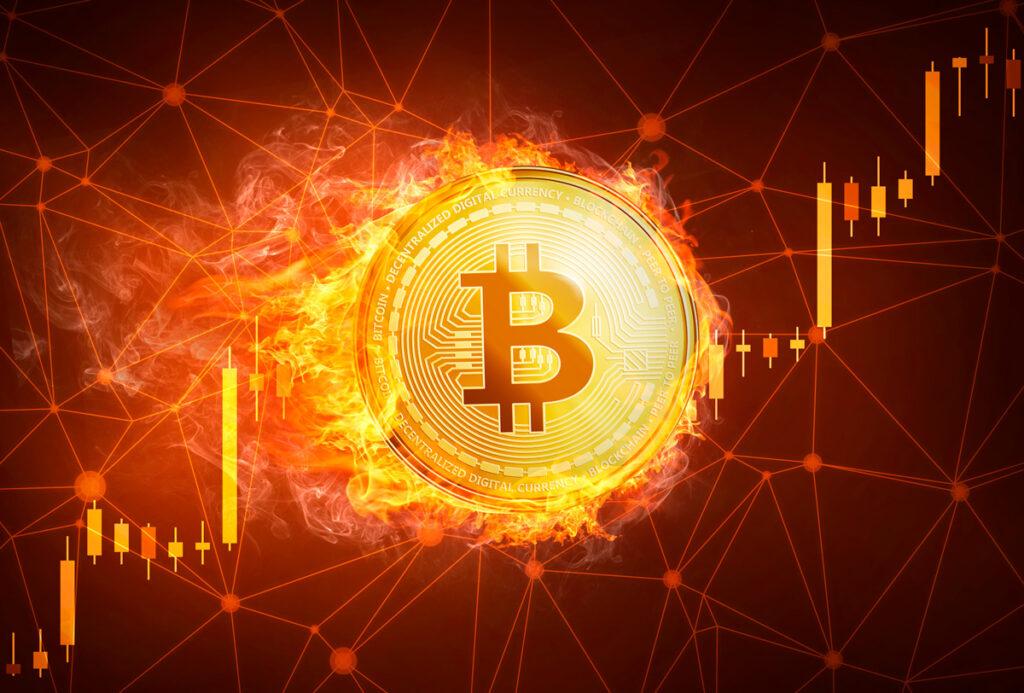 Bitcoin por encima de los 32.000 USD