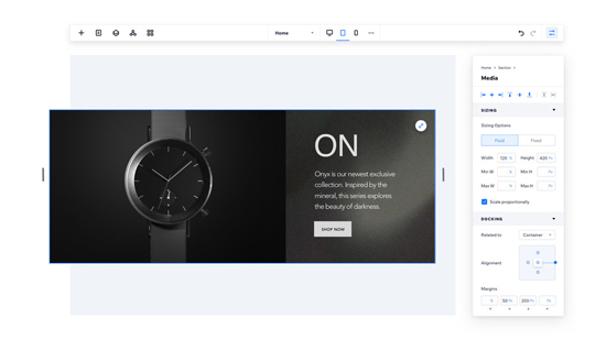 como crear una web con editor x